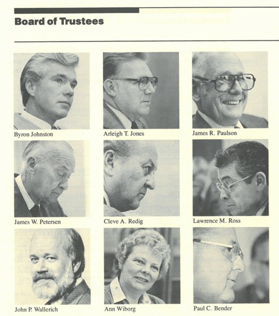 1st Board of Trustees