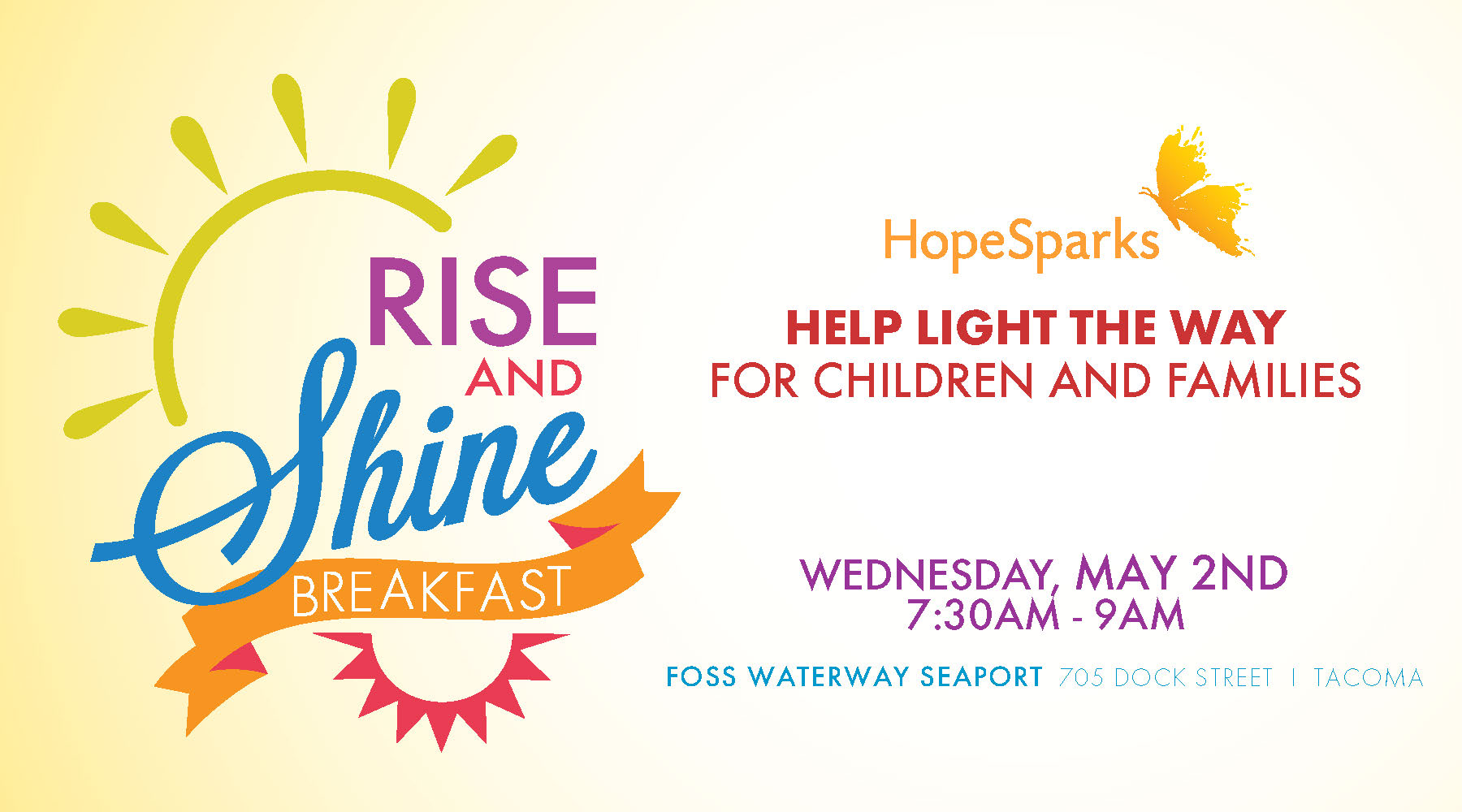 3rd Annual Rise Shine Breakfast Greater Tacoma Community Foundation