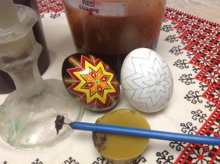 Pysanky Are Intricate Colorful Designs Created On The Egg Shell Through Layering Of Beeswax And Dyes Participants In This Workshop Will Be Introduced
