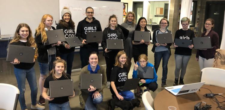 Girls Who Code – RAIN Incubator
