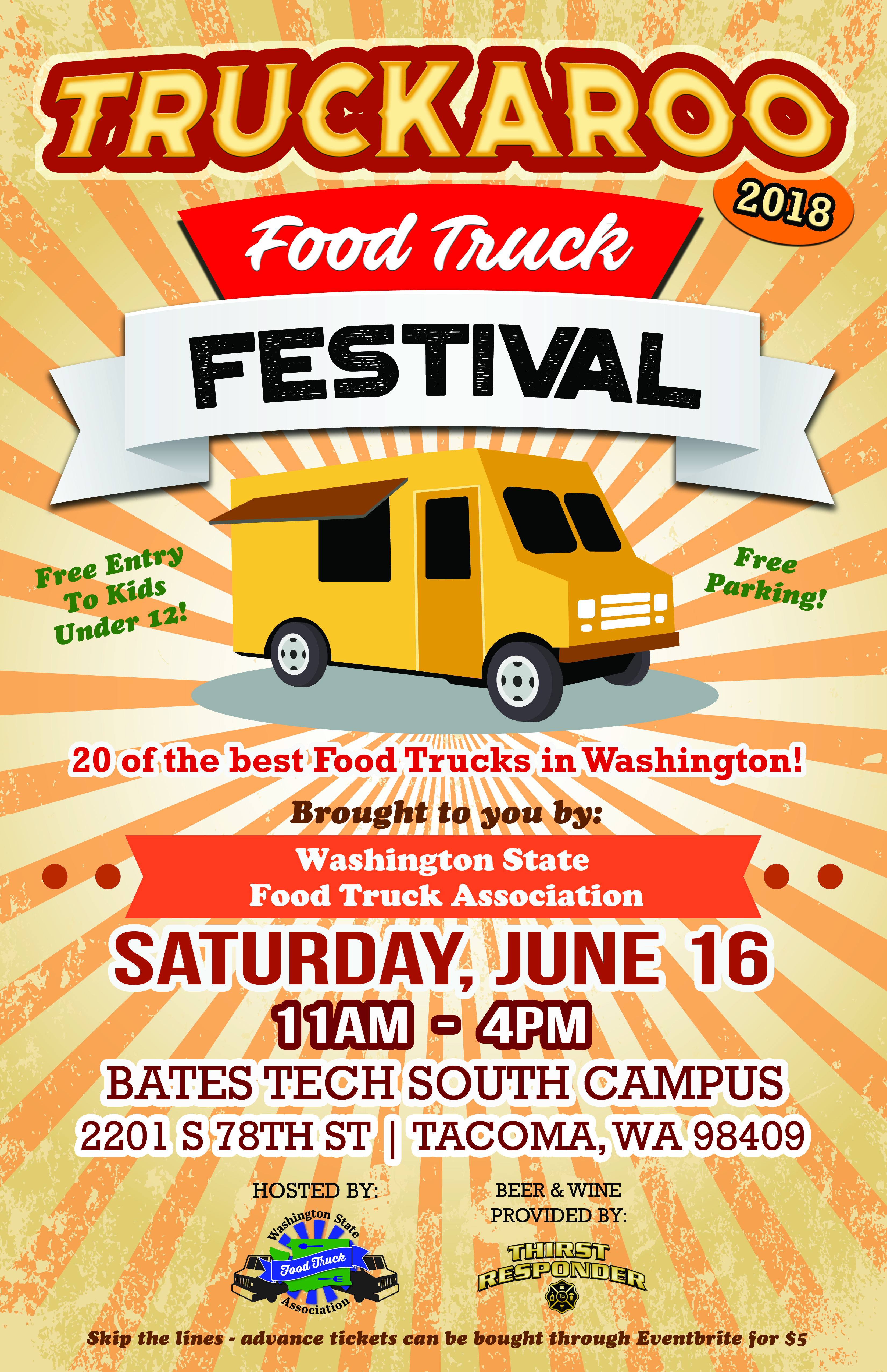 Truckaroo Food Truck Festival Greater Tacoma Community Foundation